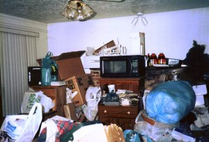 What my house looks like to me, pre-packout...