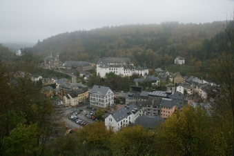 View of Clervaux from above