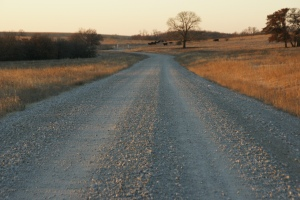 The roads of my childhood